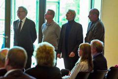 Jurymitglieder Franz Gerihson /Tenor, Manfred Hof/Posaune, Bernhard Schwarz/Violoncello, Bernd F. Marseille/Klavier