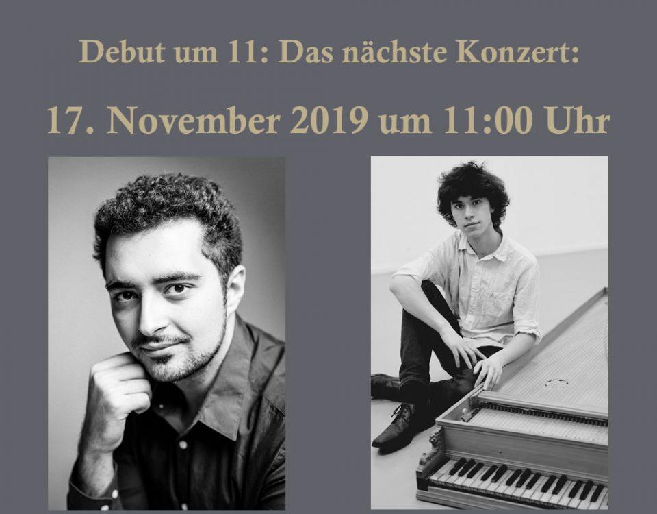 Debut um 11: Konzert